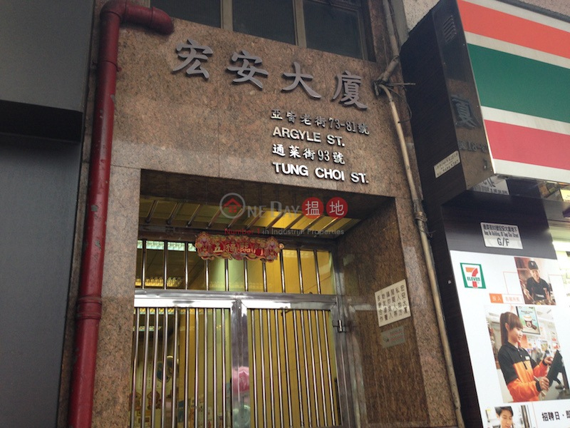 Wang On Building (Wang On Building ) Mong Kok|搵地(OneDay)(1)