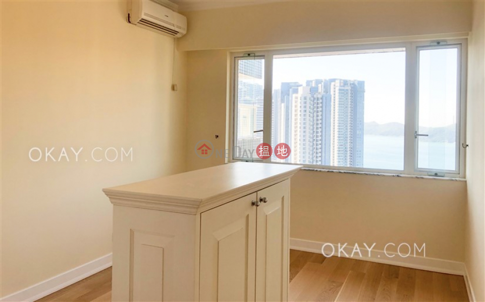 Property Search Hong Kong | OneDay | Residential, Rental Listings | Efficient 3 bed on high floor with sea views & balcony | Rental
