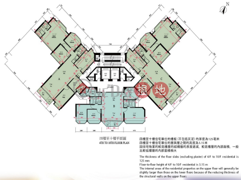 油柑頭4房豪宅筍盤出租 住宅單位 壹號九龍山頂(One Kowloon Peak)出租樓盤 (EVHK45292)_0