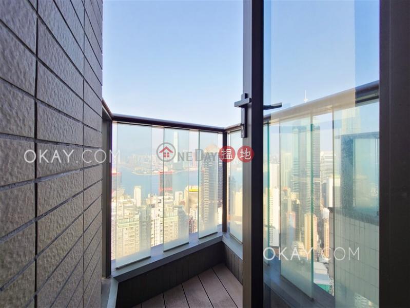 2房1廁,極高層,海景,星級會所殷然出租單位-100堅道 | 西區-香港|出租|HK$ 48,000/ 月