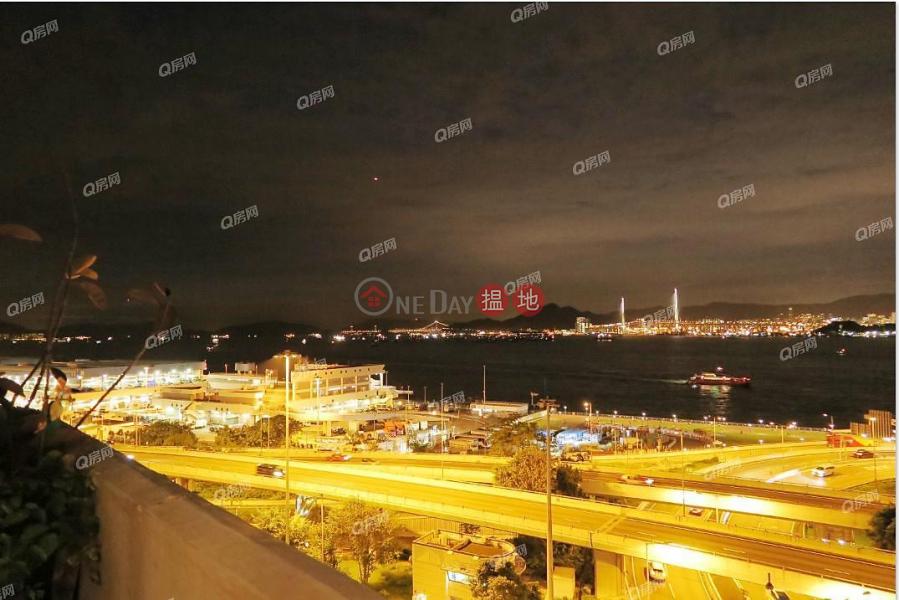 HK$ 1,250萬|富康樓-西區-特色單位,維港海景,即買即住《富康樓買賣盤》