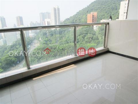 Efficient 3 bedroom with balcony & parking | Rental|POKFULAM COURT, 94Pok Fu Lam Road(POKFULAM COURT, 94Pok Fu Lam Road)Rental Listings (OKAY-R42338)_0