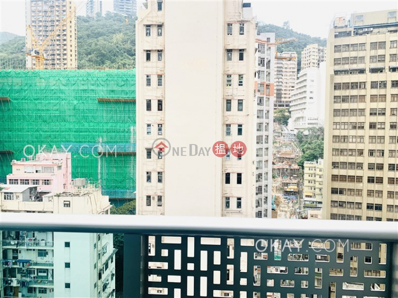 Popular 1 bedroom with balcony | Rental, J Residence 嘉薈軒 Rental Listings | Wan Chai District (OKAY-R86012)