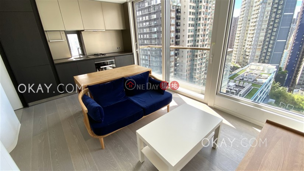 Unique 1 bedroom with balcony | Rental, 28 Aberdeen Street 鴨巴甸街28號 Rental Listings | Central District (OKAY-R320343)