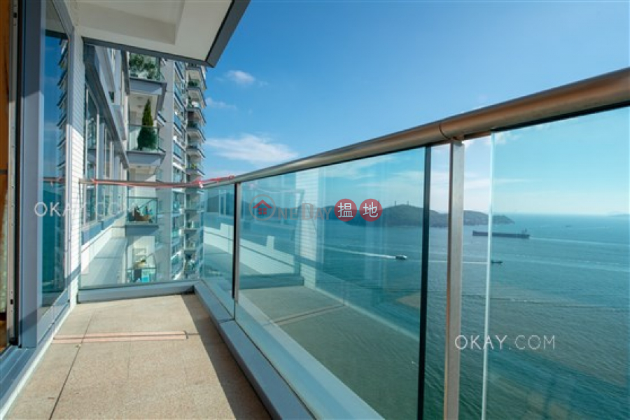 Property Search Hong Kong | OneDay | Residential | Rental Listings, Beautiful 3 bed on high floor with sea views & balcony | Rental