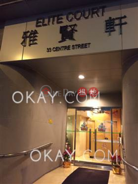 Lovely 2 bedroom with balcony | Rental, Elite Court 雅賢軒 Rental Listings | Western District (OKAY-R77554)