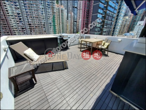 Rear nicely done up roof in Central|Central DistrictTim Po Court(Tim Po Court)Rental Listings (A069006)_0