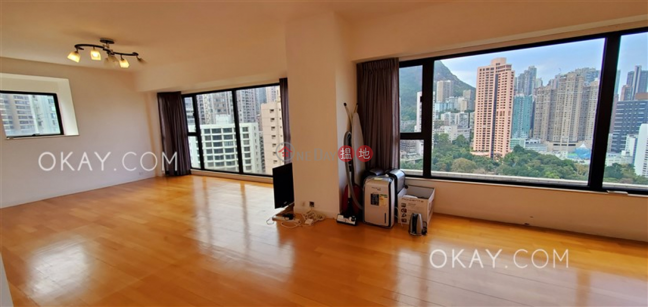 HK$ 118,000/ month The Royal Court Central District | Beautiful 4 bedroom on high floor with balcony | Rental