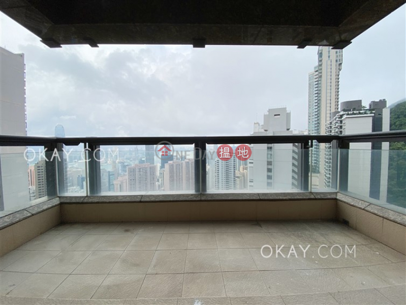 HK$ 123,000/ month | Aigburth Central District, Rare 3 bed on high floor with harbour views & balcony | Rental