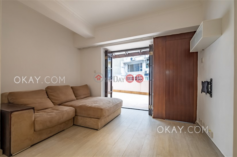 HK$ 11M Million City, Central District, Lovely 1 bedroom with terrace | For Sale