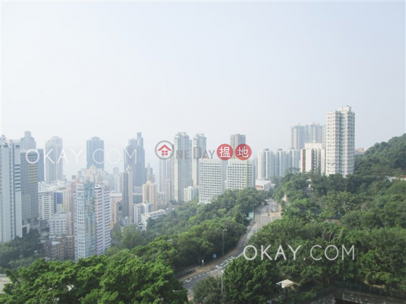 Efficient 3 bedroom with balcony & parking | Rental | POKFULAM COURT, 94Pok Fu Lam Road 碧林閣 Rental Listings