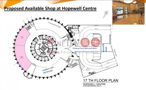 灣仔3295呎旺舖出租|灣仔區合和中心(Hopewell Centre)出租樓盤 (H000344692)_0