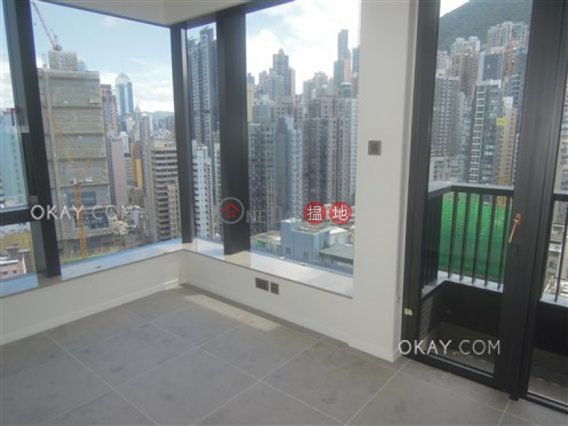 HK$ 22M Bohemian House | Western District, Luxurious 3 bed on high floor with sea views & balcony | For Sale