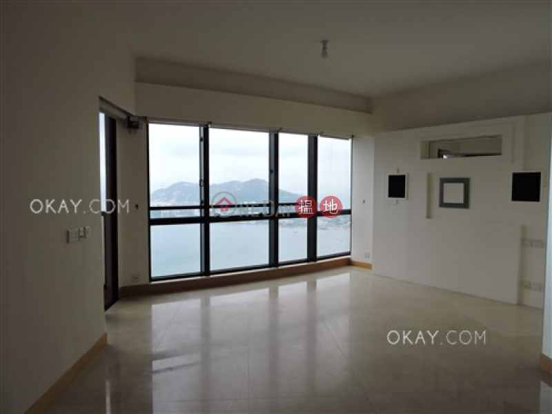 Gorgeous 3 bed on high floor with sea views & balcony | Rental | Pacific View 浪琴園 Rental Listings
