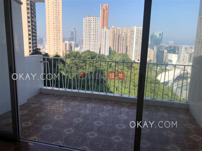 香港搵樓|租樓|二手盤|買樓| 搵地 | 住宅出租樓盤-3房2廁,實用率高,海景,露台《渣甸山花園大廈A1-A4座出租單位》