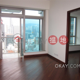 Unique 1 bedroom on high floor with balcony & parking   For Sale