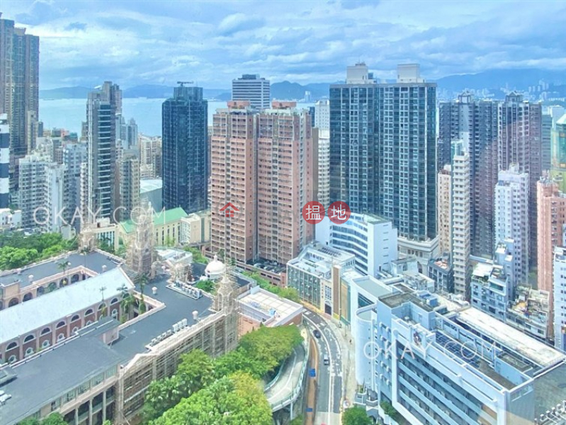 HK$ 23.8M | Block B KingsField Tower | Western District Efficient 1 bed on high floor with rooftop & terrace | For Sale