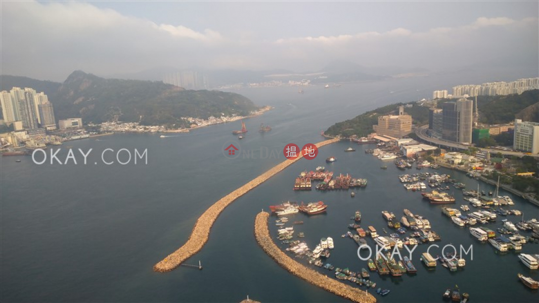 Property Search Hong Kong | OneDay | Residential, Rental Listings | Stylish 3 bed on high floor with sea views & balcony | Rental