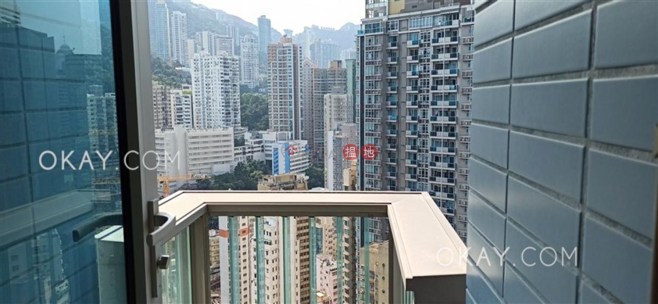1房1廁,極高層,可養寵物,露台《囍匯 2座出租單位》 200皇后大道東   灣仔區 香港出租-HK$ 33,000/ 月