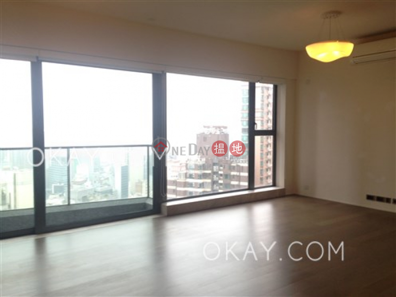 HK$ 49M, Azura Western District Exquisite 3 bed on high floor with harbour views | For Sale