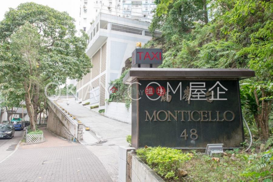 2房2廁,實用率高,極高層,連車位滿峰台出租單位|滿峰台(Monticello)出租樓盤 (OKAY-R85335)