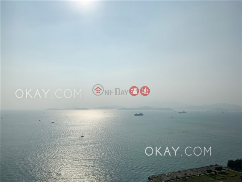 Property Search Hong Kong | OneDay | Residential | Rental Listings | Tasteful 2 bed on high floor with sea views & balcony | Rental