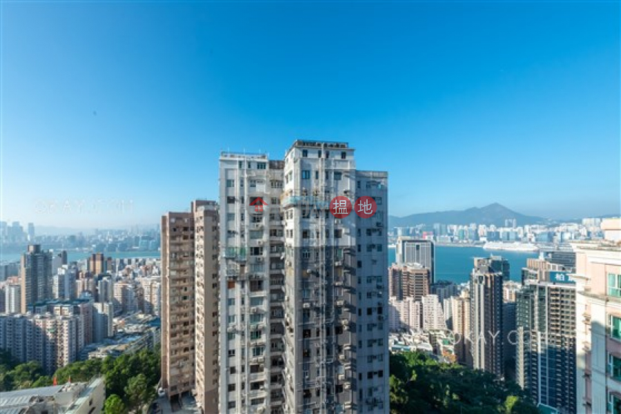 Property Search Hong Kong | OneDay | Residential, Rental Listings, Popular 3 bed on high floor with sea views & balcony | Rental
