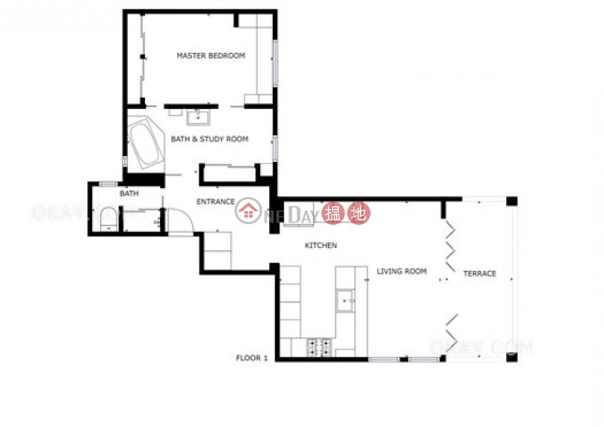 香港搵樓|租樓|二手盤|買樓| 搵地 | 住宅-出售樓盤-1房1廁,極高層,連租約發售《其發大廈出售單位》