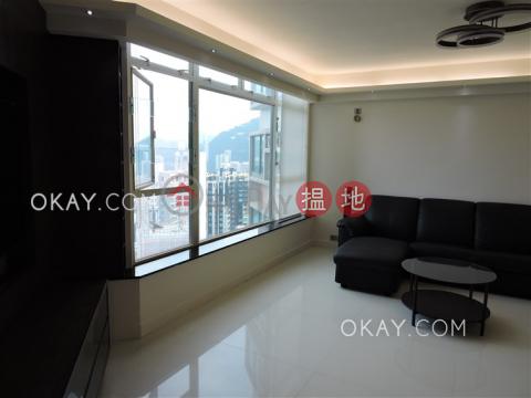 Elegant 3 bedroom on high floor with harbour views | Rental|Robinson Place(Robinson Place)Rental Listings (OKAY-R36146)_0