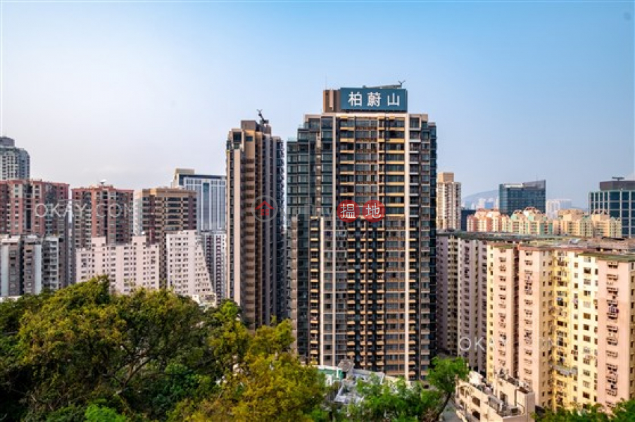 Charming 3 bedroom with balcony   Rental, Fleur Pavilia Tower 2 柏蔚山 2座 Rental Listings   Eastern District (OKAY-R365839)