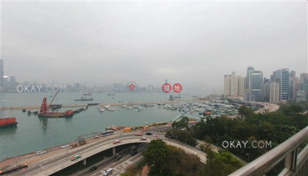 Rare 3 bed on high floor with harbour views & balcony | Rental | Highland Mansion 海倫大廈 Rental Listings
