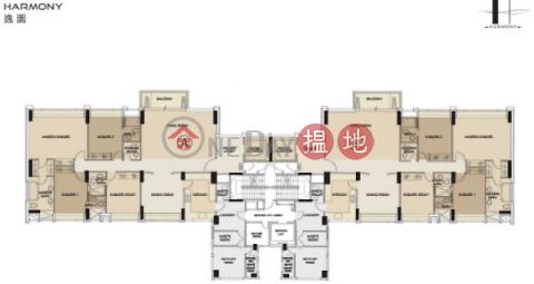 司徒拔道三房兩廳筍盤出租|住宅單位|逸園(Harmony)出租樓盤 (EVHK35541)_0