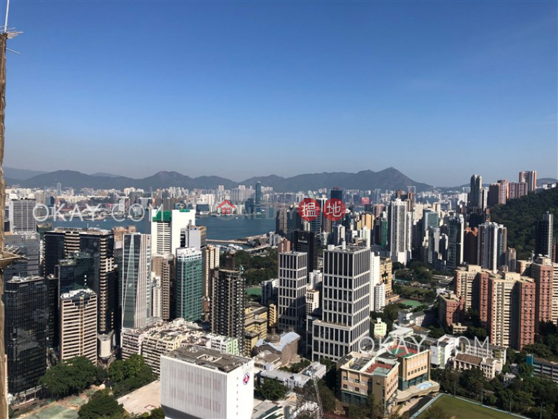 Unique 3 bedroom on high floor with balcony & parking | Rental | Beverly Hill 比華利山 Rental Listings