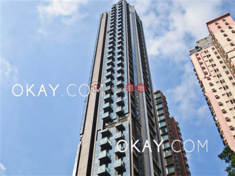 Property Search Hong Kong | OneDay | Residential Rental Listings | Tasteful 2 bed on high floor with sea views & balcony | Rental