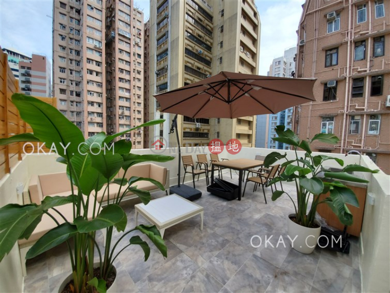 Luxurious 1 bedroom on high floor with rooftop | Rental, 199-201 Hollywood Road | Western District Hong Kong | Rental HK$ 32,000/ month
