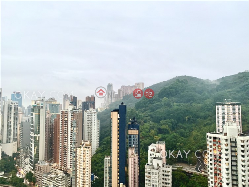 HK$ 21M, Warrenwoods | Wan Chai District | Stylish 2 bed on high floor with harbour views | For Sale