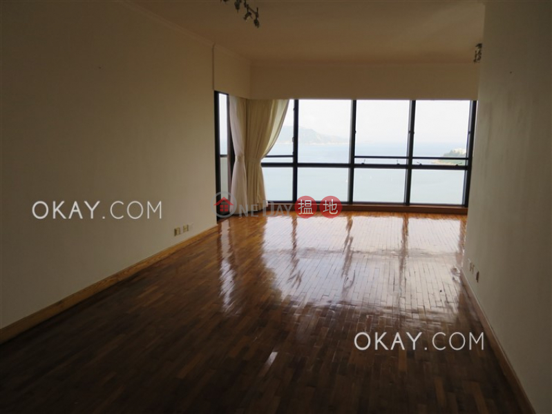 Unique 4 bedroom on high floor with balcony & parking | Rental | Pacific View 浪琴園 Rental Listings
