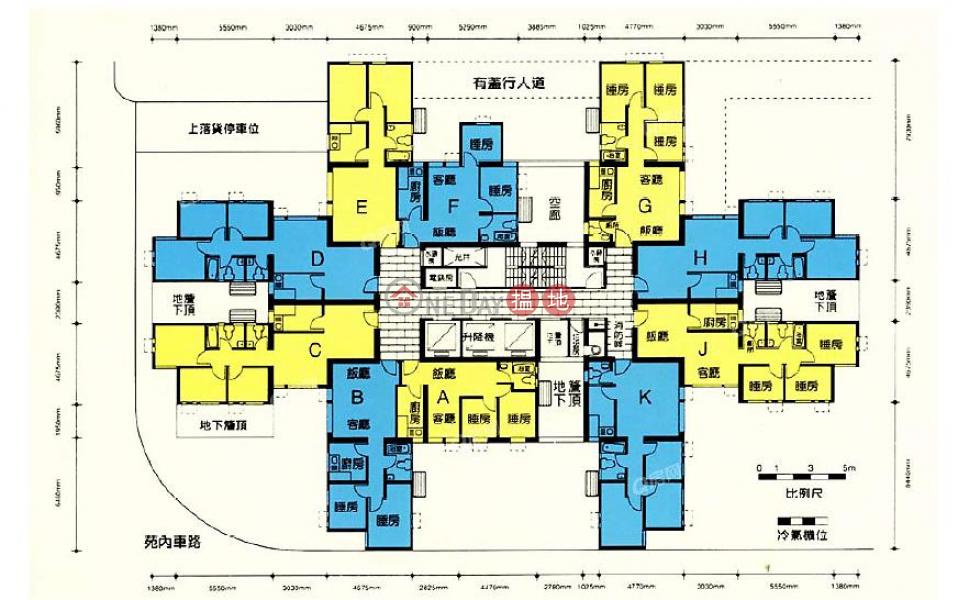 Block 8 Harmony Garden | 2 bedroom Mid Floor Flat for Sale | Block 8 Harmony Garden 富欣花園 8座 Sales Listings