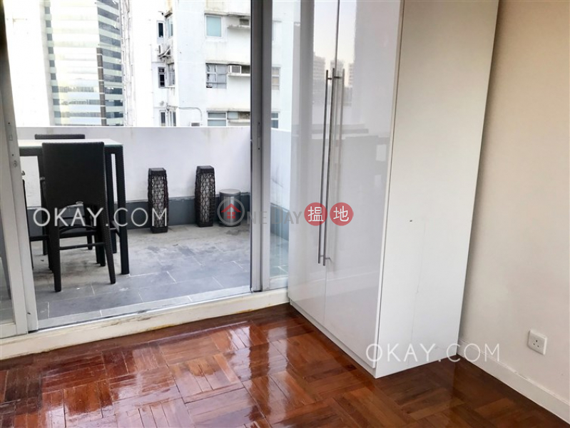 Intimate studio on high floor with terrace | Rental | Sunrise House 新陞大樓 Rental Listings