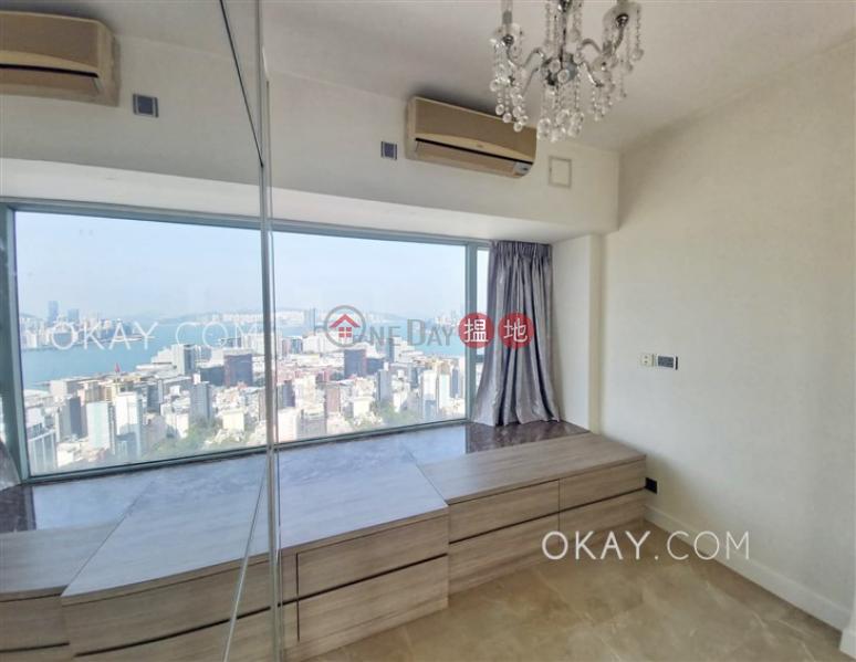 HK$ 39,500/ 月|港景峯3座|油尖旺-2房2廁,極高層,星級會所,露台《港景峯3座出租單位》