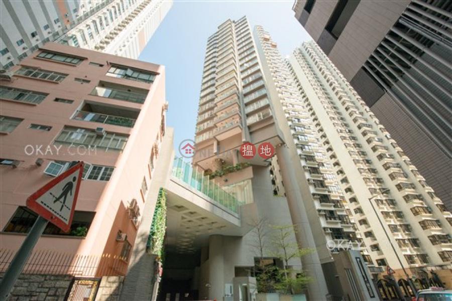 HK$ 25,000/ 月|干德道38號The ICON-西區|1房1廁,極高層,星級會所,露台干德道38號The ICON出租單位