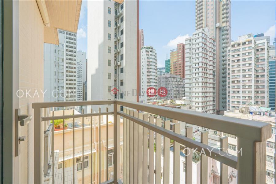 HK$ 26,000/ month The Hillside Wan Chai District, Tasteful 1 bedroom on high floor with balcony | Rental