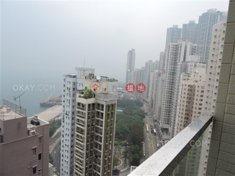 Property Search Hong Kong | OneDay | Residential | Rental Listings, Unique 3 bedroom on high floor with sea views & balcony | Rental