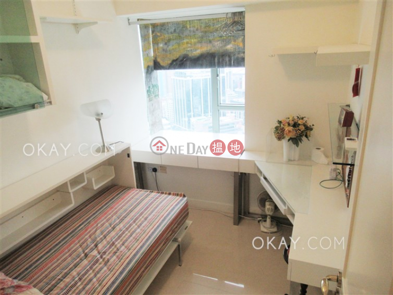 Property Search Hong Kong | OneDay | Residential Rental Listings | Charming 3 bed on high floor with sea views & balcony | Rental