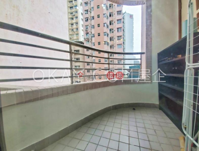 2房1廁,露台百麗花園出租單位 7-9堅道   中區-香港-出租 HK$ 25,000/ 月
