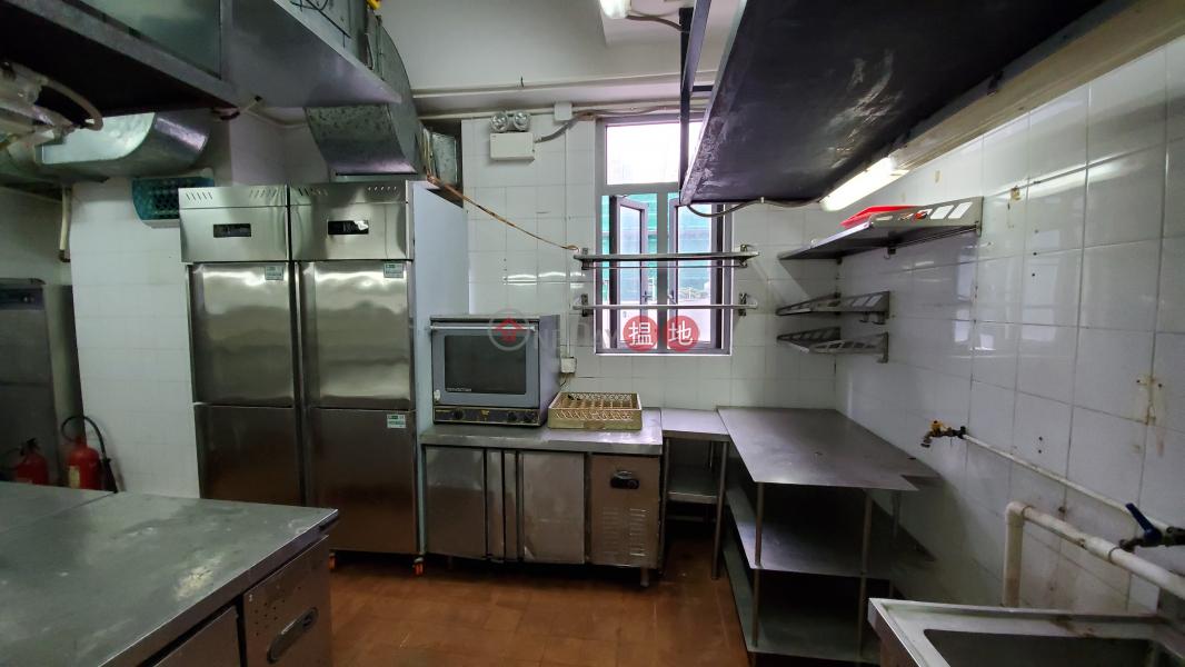 現餐廳裝修, 有少量廚房用具, 免頂手|譽發商業大廈(Grand Place (Hamilton Commercial Building))出租樓盤 (MABEL-4180035790)