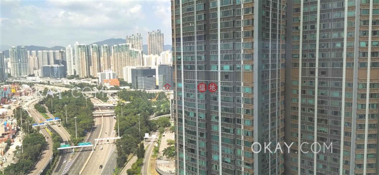 Gorgeous 3 bedroom with sea views & balcony | Rental 1 Austin Road West | Yau Tsim Mong | Hong Kong, Rental | HK$ 56,000/ month