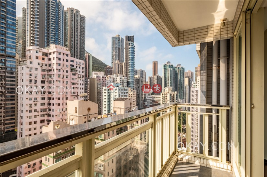 Lovely 3 bedroom on high floor with balcony & parking | Rental 108 Hollywood Road | Central District, Hong Kong, Rental | HK$ 56,000/ month