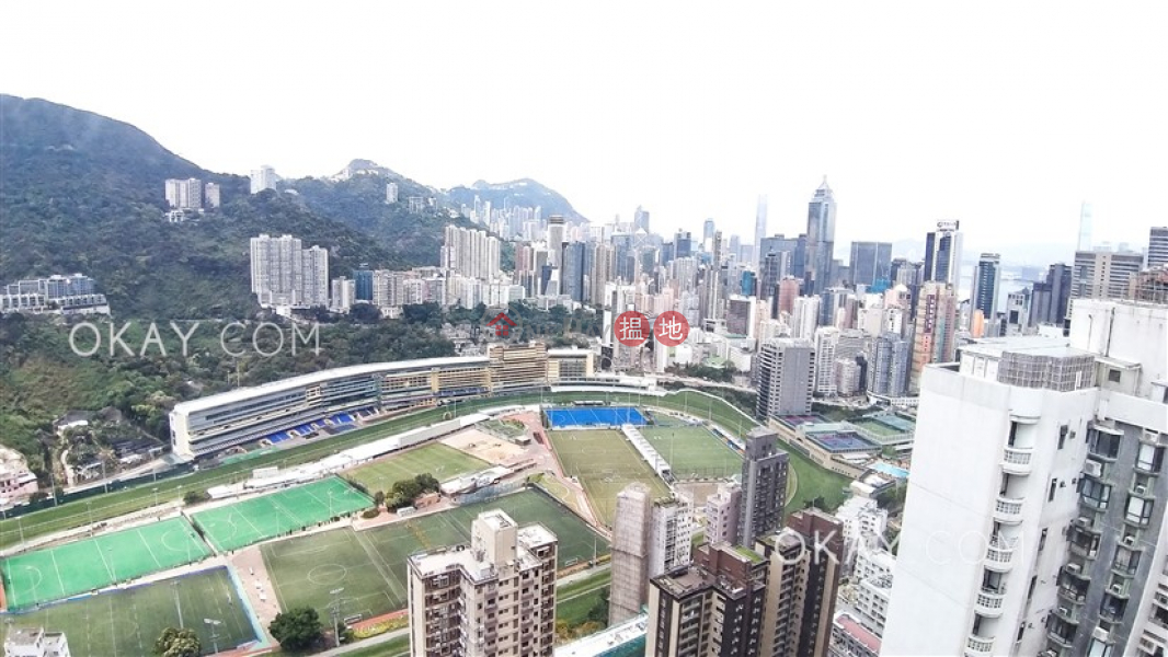 Property Search Hong Kong | OneDay | Residential | Rental Listings Efficient 3 bed on high floor with racecourse views | Rental