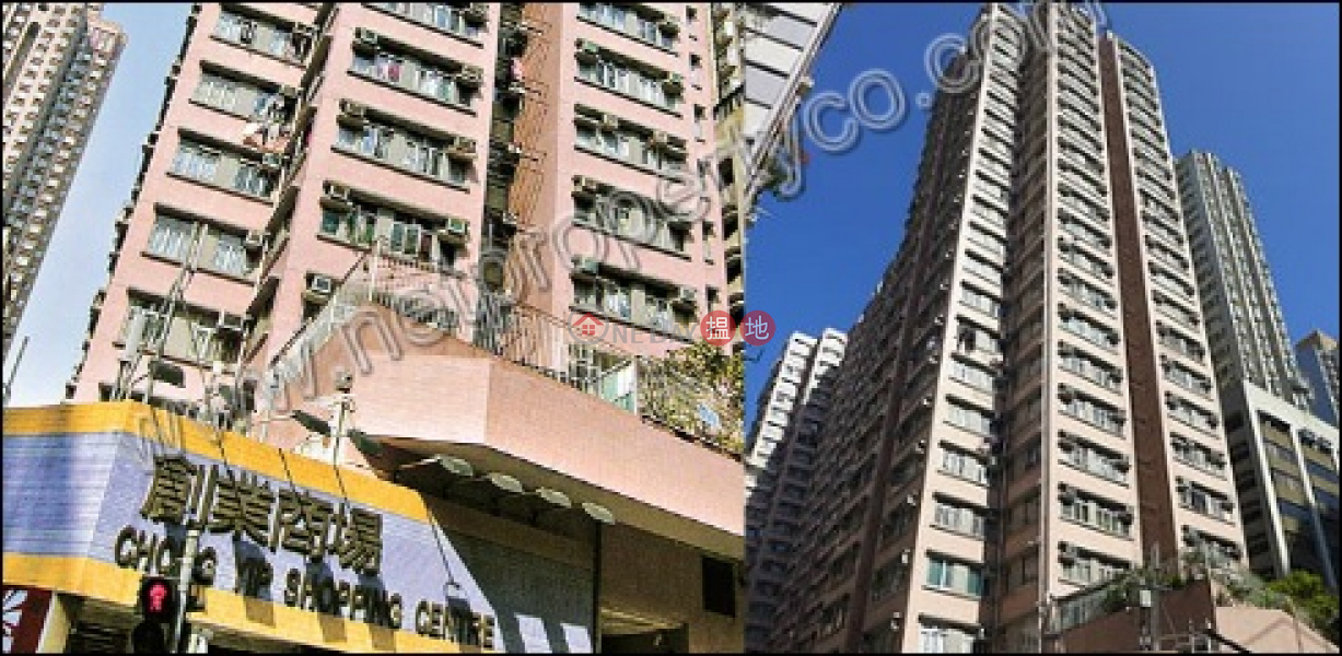 Apartment for Rent in Sai Wan, Chong Yip Centre Block A 創業中心 A 座 Rental Listings | Western District (A062342)